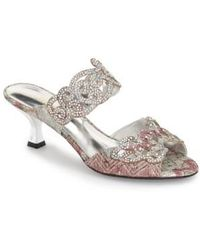 J. Reneé - Francie Embellished Evening Sandals - Lyst