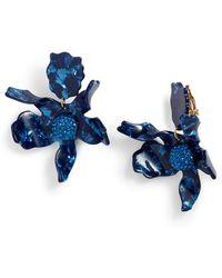 Lele Sadoughi - Crystal Drop Earrings - Lyst