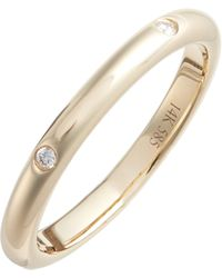 EF Collection - Diamond Stack Ring - Lyst