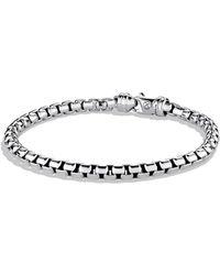 David Yurman - 'chain' Large Link Box Chain Bracelet - Lyst