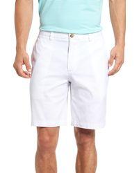 Vineyard Vines 9 Inch Stretch Breaker Shorts - White