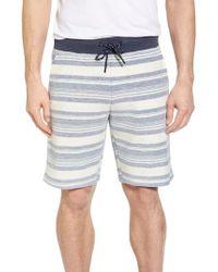 Surfside Supply - Stripe Reverse Terry Shorts - Lyst