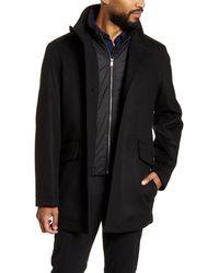BOSS Coxtan Bib - Front Coat - Black
