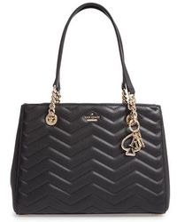 Kate Spade - Reese Park - Small Courtnee Leather Tote - Lyst