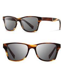 Shwood 'canby' 53mm Polarized Sunglasses - Gray