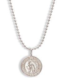 Melinda Maria Zodiac Pendant Necklace - Metallic