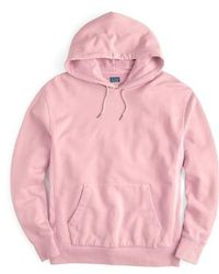 J.Crew - J.crew Garment Dyed French Terry Hoodie - Lyst