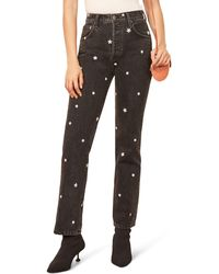 Reformation Cynthia High Waist Relaxed Jeans - Black