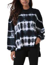 Electric and Rose Neil Tie Dye Sweatshirt - Multicolor