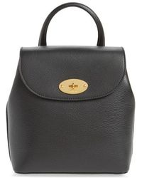 Mulberry - Mini Bayswater Calfskin Leather Convertible Backpack - - Lyst
