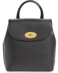 Mulberry - Mini Bayswater Calfskin Leather Convertible Backpack - Lyst