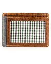 Boconi - Caleb Lte Leather Card Case - - Lyst