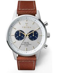 Triwa - Loch Nevil Leather Strap Watch - Lyst
