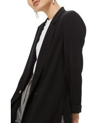 TOPSHOP - Ava Double Breasted Jacket - Lyst