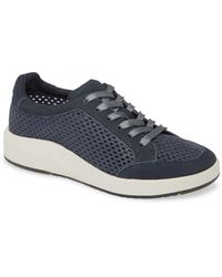 Otbt Joyce Perforated Sneaker - Blue
