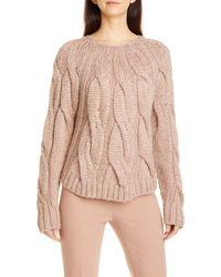 Seventy Cable Sweater - Multicolor