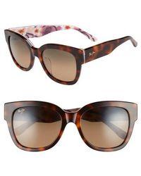 Maui Jim - 54mm Rhythm Polarized Sunglasses - Lyst