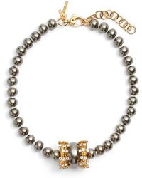 Lele Sadoughi - Copacabana Collar Necklace - Lyst