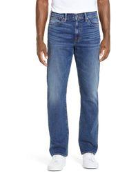 Madewell Straight Everyday Flex Jeans - Blue