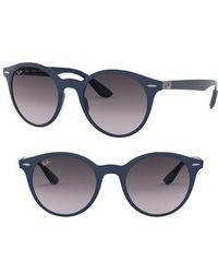 efdd039ae07 Ray-Ban Phantos 57mm Polarized Rimless Aviator Sunglasses - Polar ...