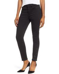 Jen7 - Black Ankle Jeans - Lyst