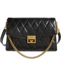Givenchy - Medium Gv3 Quilted Leather Crossbody Bag - Lyst