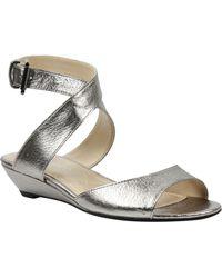 J. Reneé - Belden Ankle Wrap Sandal - Lyst