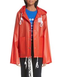 Proenza Schouler Pswl Graphic Raincoat - Multicolor