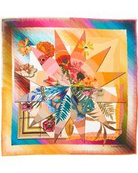 Christian Lacroix - Cristian Lacroix Botanic Silk Scarf - Lyst