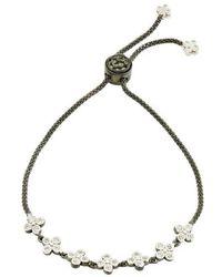 Freida Rothman - Signature Clover Adjustable Bracelet - Lyst