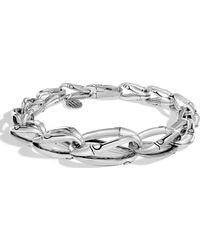 John Hardy Bamboo Tapered Link Bracelet - Metallic