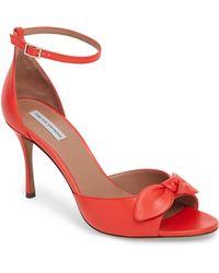 Tabitha Simmons - Mimmi Bow Ankle Strap Sandal - Lyst
