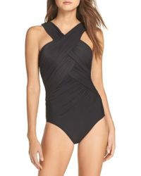 Miraclesuit - Miraclesuit Crisscross One-piece Swimsuit - Lyst