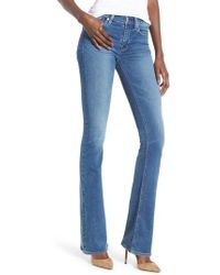 Hudson Jeans - Drew Mid-rise Bootcut Jeans In Ayon (ayon) Women's Jeans - Lyst