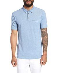 HUGO - Darrow Cotton Polo Shirt - Lyst