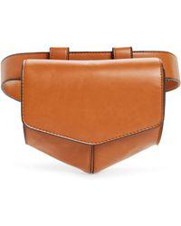 c2e8bb4eed7 Lyst - Leith Faux Fur Handle Medium Crossbody Bag