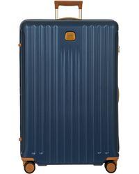 Bric's Capri 2.0 32-inch Expandable Rolling Suitcase - Blue
