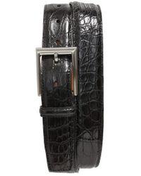 Magnanni - Crocodile Leather Belt - Lyst