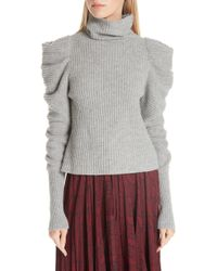 A.L.C. - Moy Leg Of Mutton Turtleneck Sweater - Lyst
