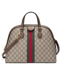 Gucci - Ophidia Gg Supreme Dome Satchel - - Lyst
