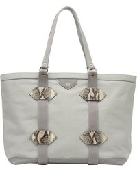 Kelly Wynne Water Resistant Out Of Town Tote - Gray