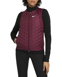 Nike Aeroloft 800 Fill Power Down Running Vest - Purple