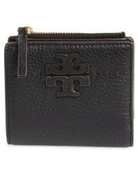Tory Burch - Mcgraw Leather Bifold Wallet - Lyst