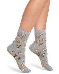 Sockart - Pizza Ankle Socks - Lyst