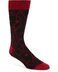 Bugatchi - Print Socks - Lyst