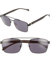 BOSS by Hugo Boss 57mm Aviator Sunglasses - Multicolor