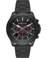 Michael Kors - Theroux Silicone Bracelet Watch - Lyst