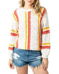 Rip Curl Keep On Surfin Stripe Sweater - Multicolour