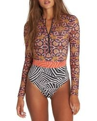 Billabong Sun Tribe Bodysuit - Multicolour
