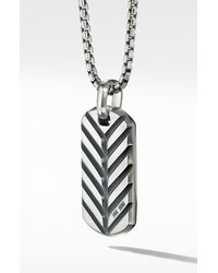 David Yurman Streamline Tag - Metallic